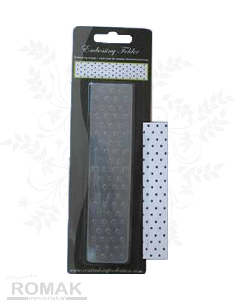 Central Craft Collection Embossing Folder 3,5x15cm