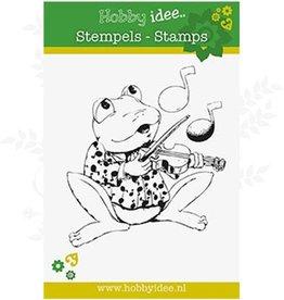 Hobby Idee Stempel Frosch