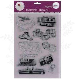 Hobby Idee Ferien Stempel 20 x 30 cm
