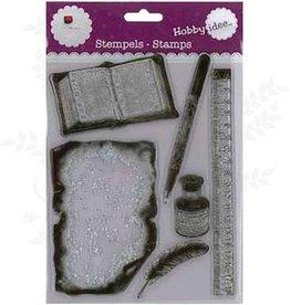 Hobby Idee Schreiben Stamp 15,5 x 20 cm