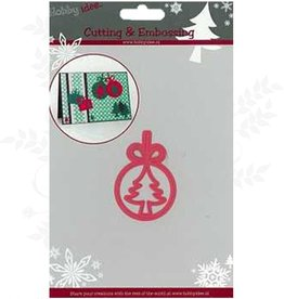 Hobby Idee Couper l'arbre de Noël Étiquette Mal