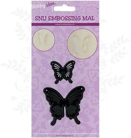 Hobby Idee Mal Schmetterlinge Cut 2 Stücke bleiben in Papier