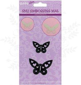 Hobby Idee Couper Mal Papillons 2 pcs
