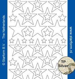Starform Star Glitter Stickers