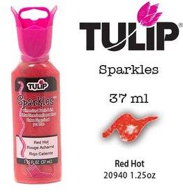 Tulip Tulip verf Sparkles Red Hot (37 ml)
