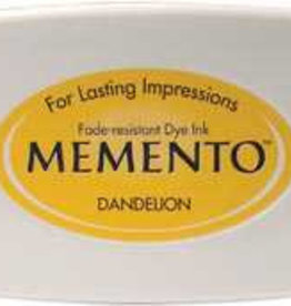 Tsukineko Inkpad Large Memento Dandelion