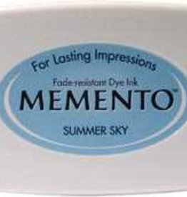 Tsukineko Inkpad Large Memento Summer sky