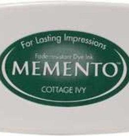 Tsukineko Inkpad Large Memento Cottage ivy