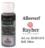Rayher Glimmer Allesverf Briljant zilver