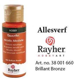 Rayher Metallic Allesverf Brillant brons