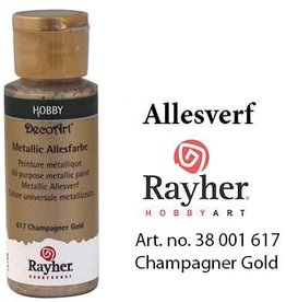 Rayher Metallic Allesverf Champagne goud