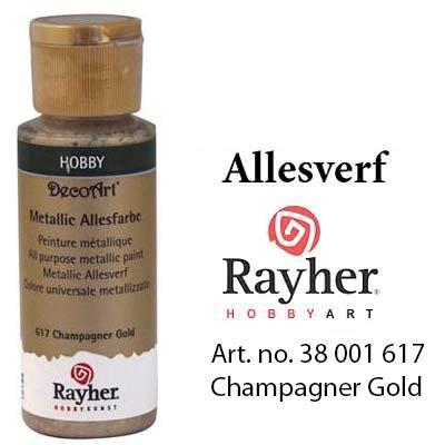 Rayher Metallic Allesverf Champagne goud