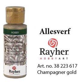 Rayher Metallic Patina Champagne goud