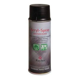 Rayher Acryl spray zwart