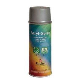 Rayher Acryl spray briljant zilver