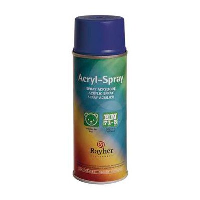Rayher Acryl spray ultramarine blauw
