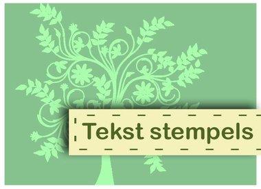 Tekst Stempels