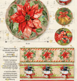 Studiolight CHRISTMAS SLEEVES, CLASSIC CHRISTMAS 09
