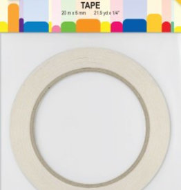 Je Je Produkt Double-sided adhesive tape 6mm X 20mtr.