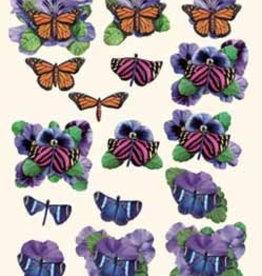 Hobby Idee 3D vel Vlinders Hobbyidee