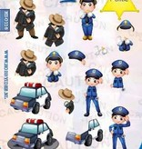 Hobby Idee 3D vel Politie Hobbyidee