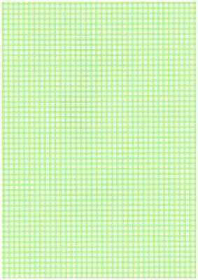 Wekabo Achtergond vel 255 - Ruit lente groen