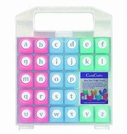 Reuser Kleinbuchstaben Alphabet Craft Punch Set