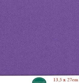 Hobbycentraal 13,5 x 27 cm Kaartkarton   20 vel  paars