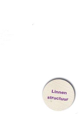 Hobbycentraal A5 Karton Linnen  10 vel   wit