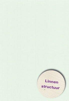 Hobbycentraal Karton 13,5_27cm Linnen  10 vel   Licht groen
