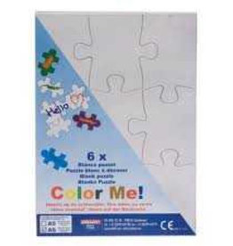 Collall Color Me Puzzle A6 zonder frame