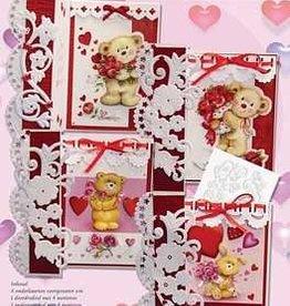 Creatief Art Pakket Valentine Love Bears Uitdruk