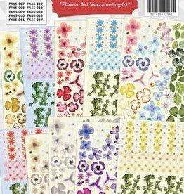 Creatief Art Creaboek Flower art verzameling 01