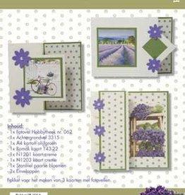 Hobby Idee Kaartenset Lavendel Paars