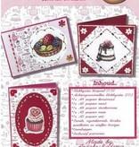 Hobby Idee Borduur kaartenset Cookietime Anneke Radsma