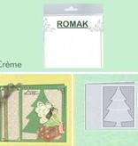 Romak Romak Kaart Ivoor 3 stuks