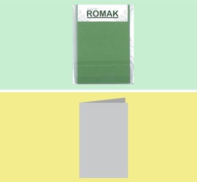Romak Romak A5 met ril Olijfgroen