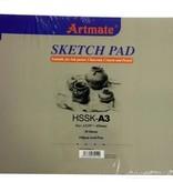 Artmate Artmate Sketch pad A3 160 gr 30 sheets