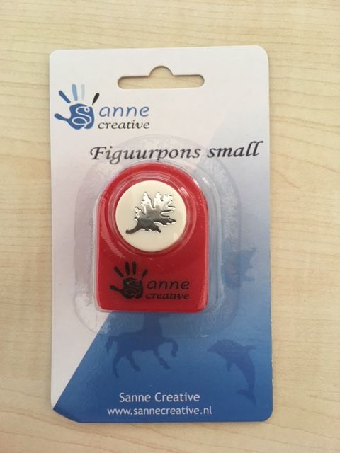Sanne Figuurpons small autumn leaf 1,5/2 cm