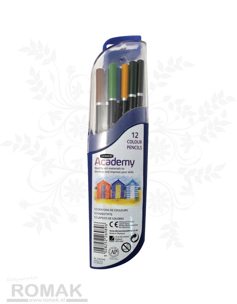 Derwent Derwent Academy 12 Colouring pencils