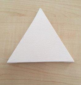 Mini schildersdoek Driehoek 10 cm
