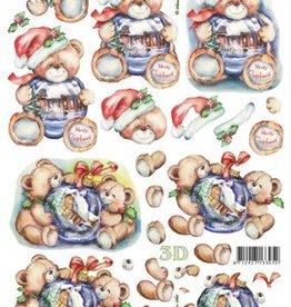 Le Suh Uitdrukvel kerst beren