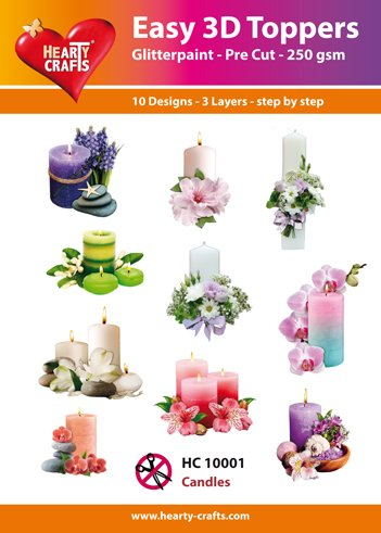 Hearty Crafts Easy 3D - Candles