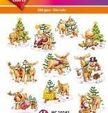 Hearty Crafts Easy 3D-Toppers Christmas Mooses