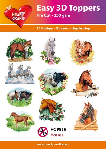 Hearty Crafts Easy 3D - Horses