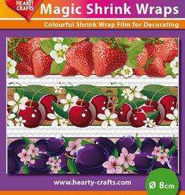 Hearty Crafts Magic Shrink Wraps, Fruit (⌀ 8 cm)