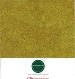 Central Craft Collection Glitzer Papier Gold A4