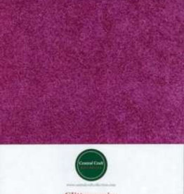 Central Craft Collection Glitter paper fuchsia A4
