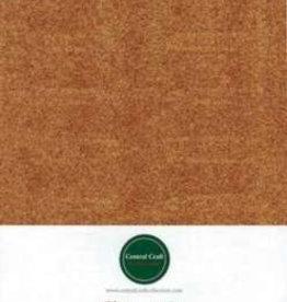 Central Craft Collection Papier scintillant orange A4