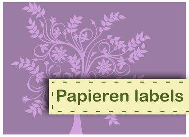 Papieren Labels